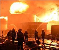 السيطرة على حريق بـ2000 طن قش أرز بالدقهلية