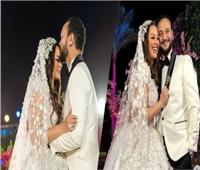 بالصور.. حفل زفاف أحمد خالد صالح وهنادي مهنا بحضور نجوم الفن