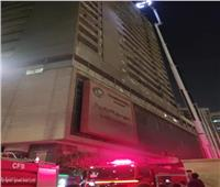 السيطرة على حريق في مبنى سكني بالعباسية
