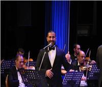أحمد سعد يبدع بمهرجان الموسيقي العربية 29 بالإسكندرية