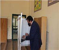 انتخابات النواب 2020|وزير التعليم العالى والبحث العلمى يدلي بصوته