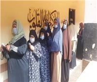 انتخابات النواب 2020   احتشاد المواطنين أمام لجان المنوفية