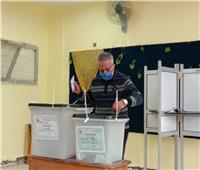 انتخابات النواب 2020  وزير التعليم الأسبق يدلي بصوتة في القاهرة الجديدة