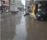 صور| الأمطار المفاجئة تربك العملية الانتخابية بالدقهلية
