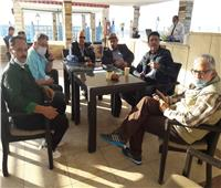 وصول أحمد وفيق ومحسن أحمد لمهرجان الإسكندرية السينمائي