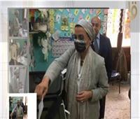 وزيرة البيئة تدلي بصوتها في انتخابات النواب