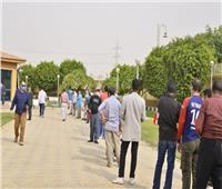 انتخابات النواب 2020  التزام بإجراءات التباعد في لجان قصر الدبارة