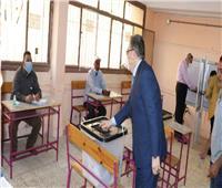 انتخابات النواب 2020   البدوى يدلى بصوته فى مدرسة قاسم أمين بطنطا