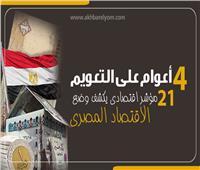 إنفوجراف| 4 أعوام على التعويم.. 21 مؤشرا تكشف وضع الاقتصاد المصري