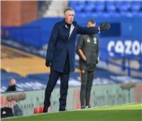 """شاهد أول تعليق لمدرب """"إيفرتون"""" بعد هزيمته أمام مانشستر يونايتد"""