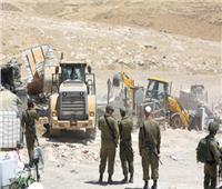 إسرائيل تواصل أكبر عملية هدم للبيوت فى الضفة الغربية المحتلة