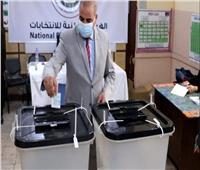 انتخابات النواب 2020| رئيس جامعة الأزهر يدلي بصوته في جاردن سيتي