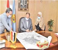 محافظ أسيوط يعتمد خرائط المخطط الاستراتيجي لمدينة أبنوب
