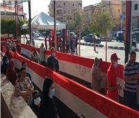 انتخابات النواب 2020   إقبال على التصويت بمدرسة عبد الحليم محمود ببدر