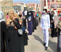 انتخابات النواب 2020  السيدات تتصدر المشهد الانتخابي في حي الأسمرات..صور