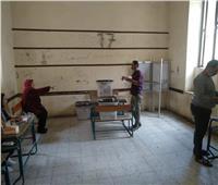 انتخابات النواب 2020   صور .. انتظام العملية الانتخابية بلجان حلوان والمعصرة