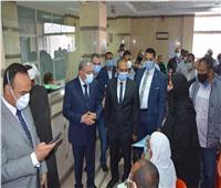محافظ المنيا يشهد دفع رسوم جدية التصالح للدفعة الأولى من المستحقين