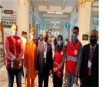 انتخابات النواب 2020   «الهلال الأحمر» يشارك بتوعية الناخبين بلجان المنوفية