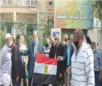 انتخابات النواب 2020  صور  أتوبيسات لنقل موظفي التعليم للجان مصر القديمة