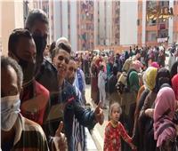 """حضور كثيف أمام لجان مدارس """"تحيا مصر"""" في الأسمرات ...السيدات في المقدمة"""