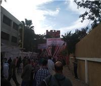 إقبال كثيف من الناخبين بعد استئناف العمل بلجان حلوان والمعصرة