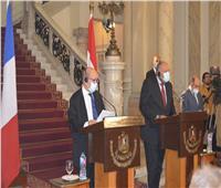 وزير الخارجية: العلاقات بين مصر وفرنسا تاريخية وقوية ونعمل على تعزيزها