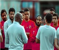 موسيماني يحاضر لاعبي الأهلي قبل انطلاق المران