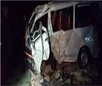 بالأسماء إصابة 10 أشخاص في إنقلاب ميكروباص بالدقهلية
