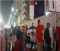 صور | إقبال كثيف من الناخبين للإدلاء بأصواتهم قبل غلق صناديق اللإقتراع بمدينة نصر