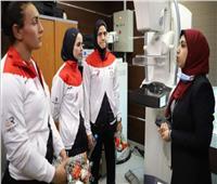 بطلات مصر للأولمبياد تقدمن الدعم النفسي والمعنوي لمحاربات «بهية»