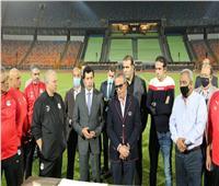 استاد القاهرة جاهز لاستضافة نهائي دوري الأبطال بين القطبين