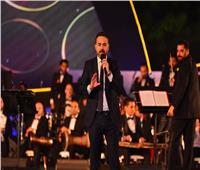 وائل جسار يُغني لمصر في افتتاح حفله بـ«الموسيقى العربية»