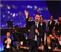 شاهد | هدية جمهور «الموسيقى العربية» لوائل جسار