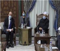 وكيل الأزهر يكشف تفاصيل لقاء «الطيب» مع وزير الخارجية الفرنسي   فيديو