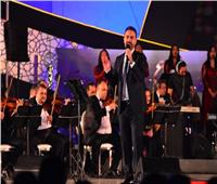 مباراة فنية بين نجوم مصر ولبنان والعراق في مهرجان الموسيقي العربية 29