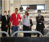 وزير الرياضة: صالات استضافة بطولة العالم لليد مصدر فخر لكل مصري