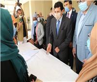 وزير الشباب يكرم الوافدات العربيات ضمن برنامج المساحات الآمنة