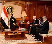 وزيرة الصناعة: خطة جديدة لتعزيز صادرات مصر بالأسواق العالمية
