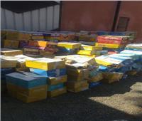 «حماية المستهلك» يضبط 332 طن مواد غذائية مجهولة المصدر بأسيوط