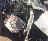 مصرع 3 أشخاص وإصابة 13 في حادث تصادم بأسيوط