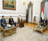 وزير الإنتاج الحربييستقبل سفيرالبحرين بالقاهرة لبحث أوجه التعاون