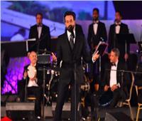 المطرب اللبناني سعد رمضان يفتتح تاسع سهرات مهرجان الموسيقى العربية