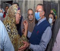 محافظ الإسكندرية يزور «الشامي».. ومساعدات للمتضررين من الأمطار