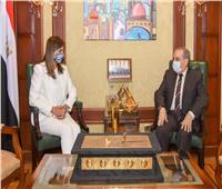 وزيرا الهجرة والإنتاج الحربي يبحثان استعدادات مؤتمر «مصر تستطيع بالصناعة»