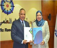 تجديد الثقة والتعاون بين «أكاديمية البحث العلمي» و«نهضة مصر»