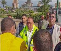 استمرار رفع درجة الاستعداد القصوى لمواجهة أثار السيول بالإسكندرية