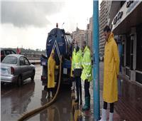 صور..القابضة للمياه: استمرار جهود التعامل مع مياه الأمطار لليوم الرابع بالإسكندرية