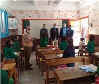 «وكيل صحة المنوفية» يتفقد حملة تجريع تلاميذ المرحلة الابتدائية