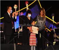 تسليم جوائز مسابقة رتيبة الحفني في ختام مهرجان الموسيقى العربية