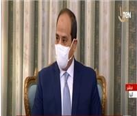 الرئيس السيسي: مكافحة الإرهاب والتطرف ليست مرتبطة بالأديان